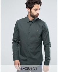 Classic shirt in slim fit with stretch medium 823125