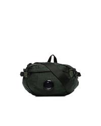 CP Company Green Nylon Cross Body Bag