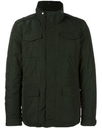 Dark Green Field Jacket