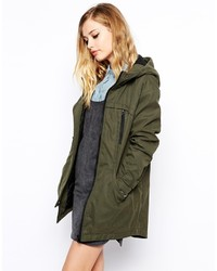 Collection oversized cocoon parka medium 190705