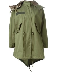 Luck oversized parka medium 190704