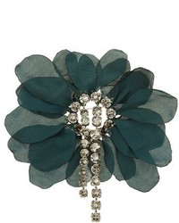 Lanvin Floral Embellished Brooch