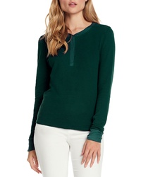 Dark Green Henley Shirt