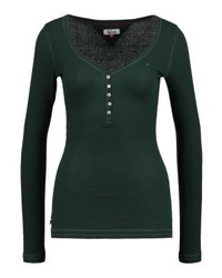 Tommy Hilfiger Basic Long Sleeved Top Green