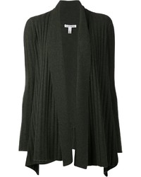 Autumn Cashmere Uneven Ribbed Cardigan