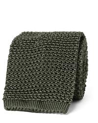 8cm knitted silk tie medium 1245718