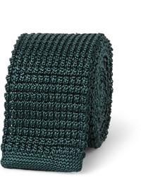 Knitted silk tie medium 155669