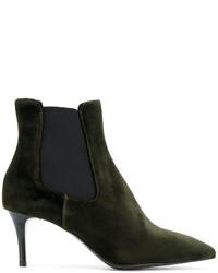P.A.R.O.S.H. Stiletto Heel Chelsea Boots