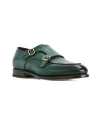 Santoni Double Loafers