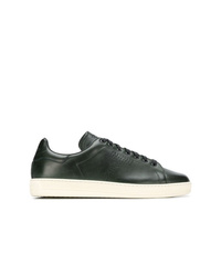 Tom Ford Perforated Lace Up Sneakers