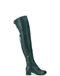 Marni Leather Over The Knee Boots