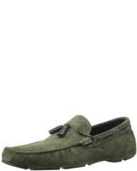 Dark Green Loafers