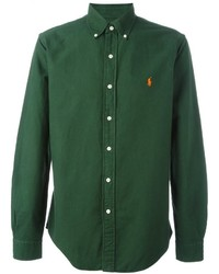 Dark Green Long Sleeve Shirt