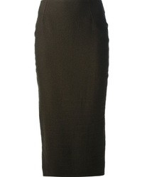 Haider Ackermann Pencil Skirt