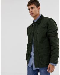 J.Crew Mercantile Barn Cord Collar Jacket In Green