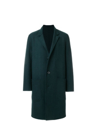 AMI Alexandre Mattiussi Double Face Construction Coat