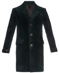 Burberry Prorsum Shaved Wool Overcoat