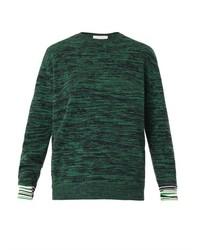 Marl knit crew neck sweater medium 423233