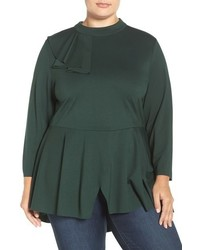 Plus size seven7 flounce peplum top medium 817146
