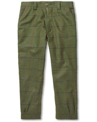 Musto shooting check stretch tweed cropped breeks trousers medium 92128