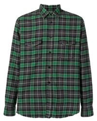 Saint Laurent Oversized Checked Shirt