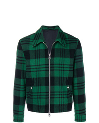 AMI Alexandre Mattiussi Snap Buttoned Zipped Jacket
