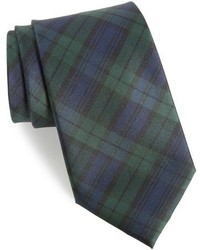 Shop family plaid silk tie medium 963074