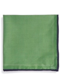 Wrk dot silk pocket square medium 314344