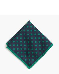 English silk pocket square in polka dot medium 735252