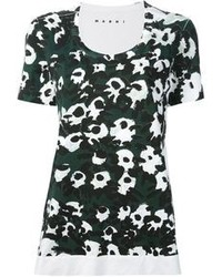 Marni Flower Print T Shirt