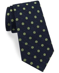 Ted Baker London Dot Print Silk Tie