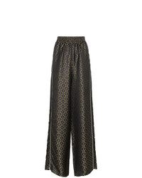 Golden Goose Deluxe Brand Sophie Jacquard Wide Leg Pants