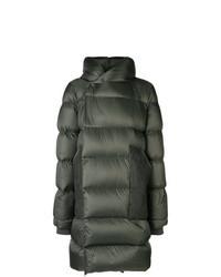 Dark Green Puffer Coat