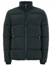 Dark Green Puffer Jacket