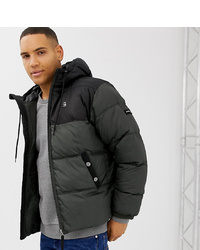 G Star Swando Block Hooded Jacket In Grey At Asos