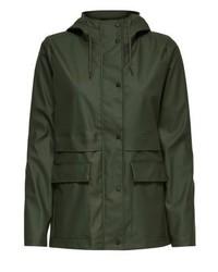 Only Onlnew Train Waterproof Jacket Rifle Green