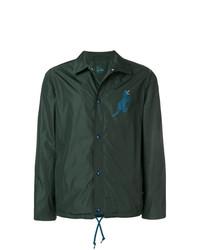 Ps By Paul Smith Dino Print Coach Jacket