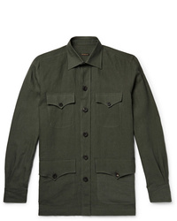 Rubinacci Linen Shirt Jacket