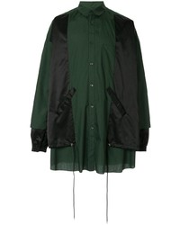 Kidill Panelled Shirt Jacket