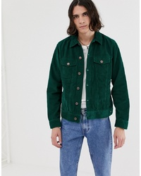 Dickies Piermont Cord Jacket In Green