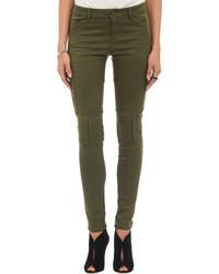 Dark Green Skinny Jeans