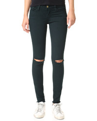 Le skinny de jeanne raw edge jeans medium 747532