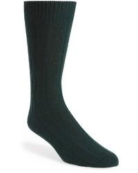 John W. Nordstrom Cashmere Blend Cable Knit Socks