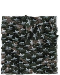 Star print camouflage scarf medium 1126167