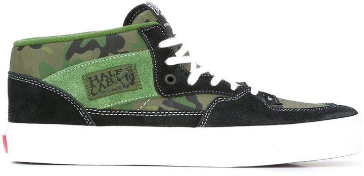 019f575476ad33 X Vans Half Cab Sneakers. Dark Green Suede Sneakers by Gosha Rubchinskiy