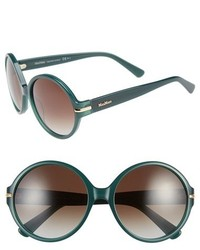 Max Mara Detail Is 56mm Round Sunglasses