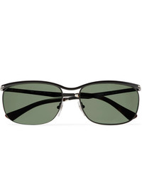 Persol Key West Rectangle Frame Acetate Polarised Sunglasses