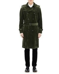 Dark Green Trenchcoat