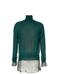 Sacai Roll Neck Sweater