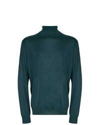 Corneliani Turtle Neck Fitted Sweater